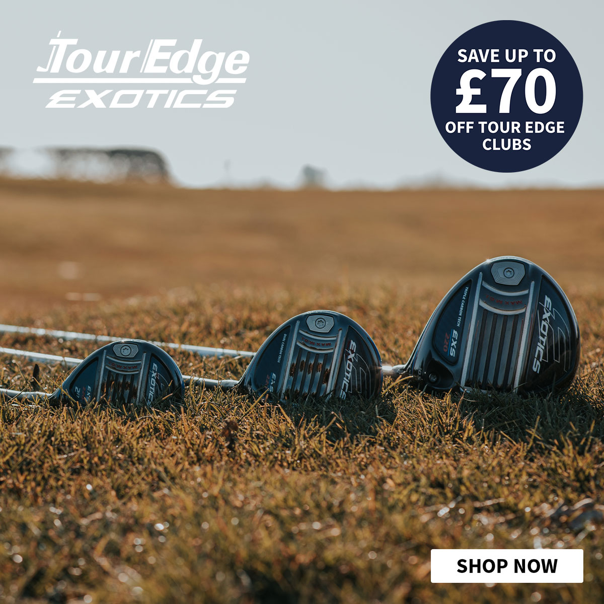 Up to £ off Tour Edge Clubs