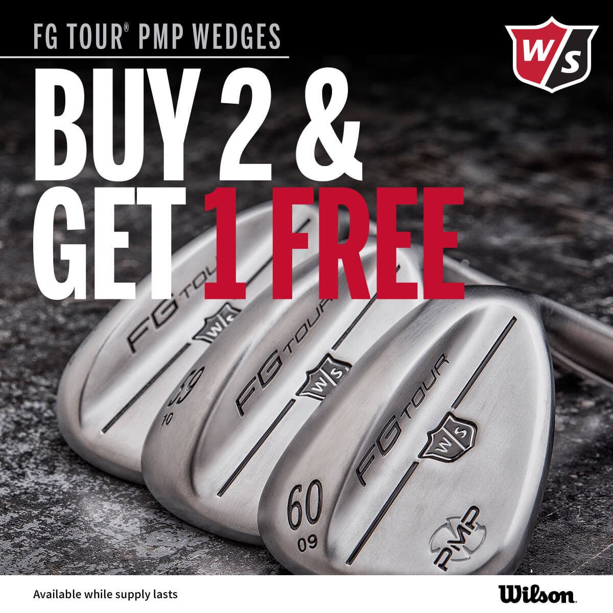 Wilson PMP Wedges 3 for 2