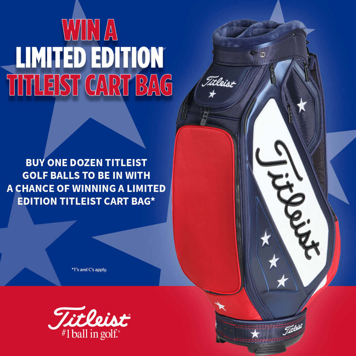 TITLEIST WIN BAG PROMO