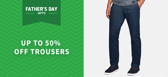 Up to 50% off Trousers