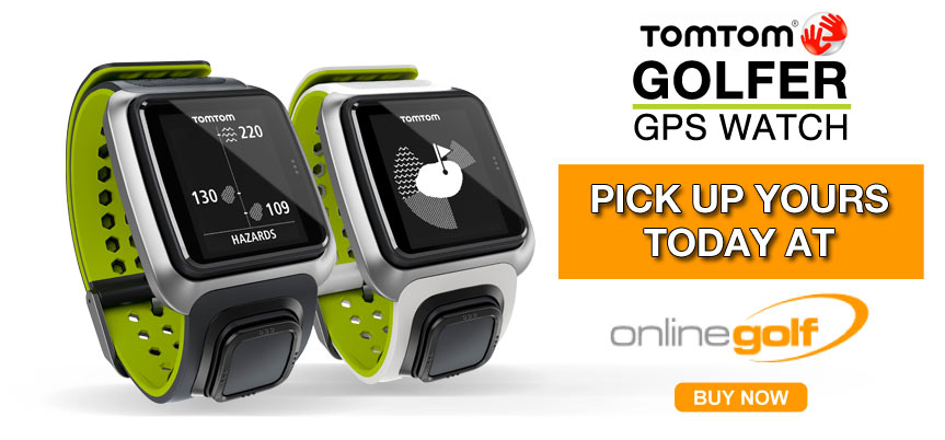 Tom Tom Golfer GPS Watch
