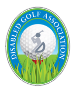 Disabled Golf Association Logo