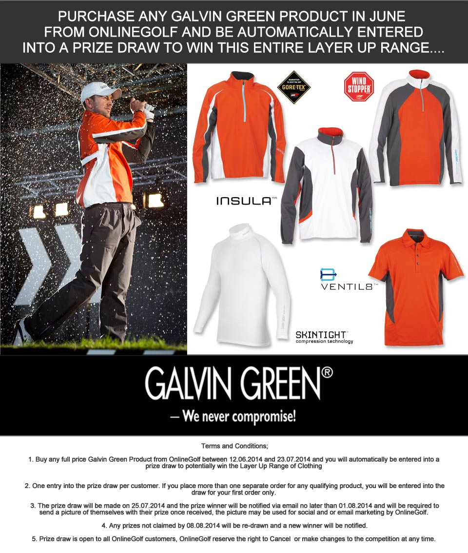 Galvin Green Layers Competition