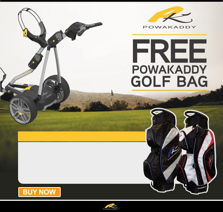 Powakaddy Free Bag Offer