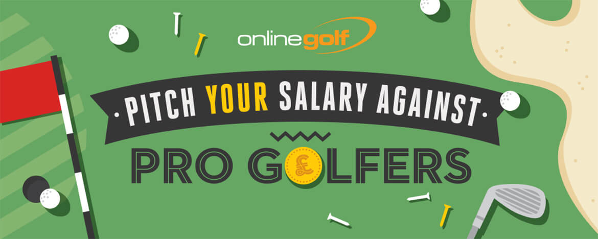 Pitch Your Salary Against Pro Golfers 2017